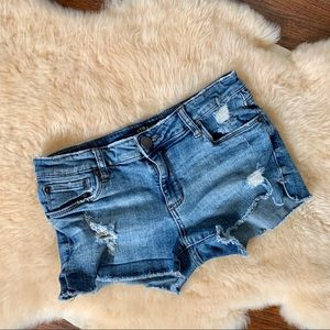 STS blue cutoff jean shorts